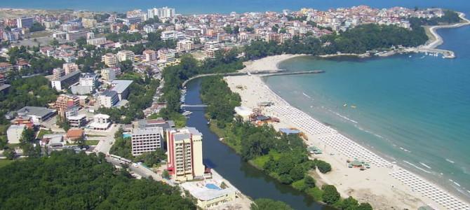 Пляжный отдых на море в Приморско, Болгария